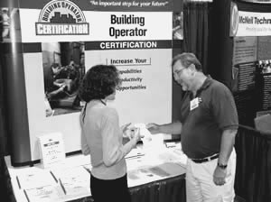 BOC Trade Show Booth seen at facility industry trade shows