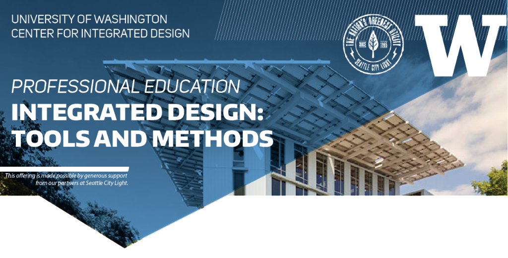 Professional education offerings at university of for Certified professional building designer